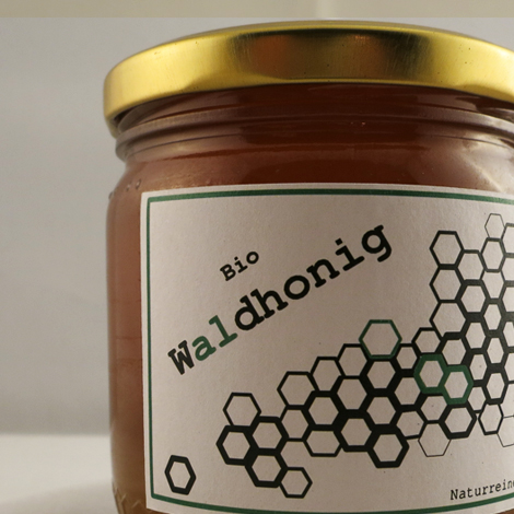 Honigglas - Waldhonig